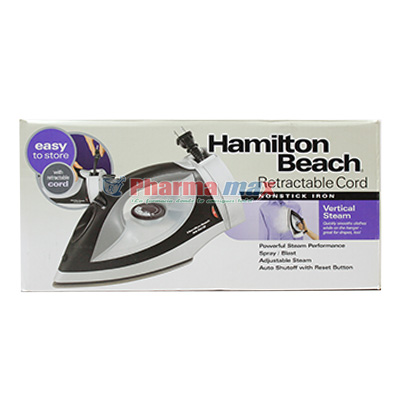 Hamilton Beach Retractable Cord Iron Item# 14210R