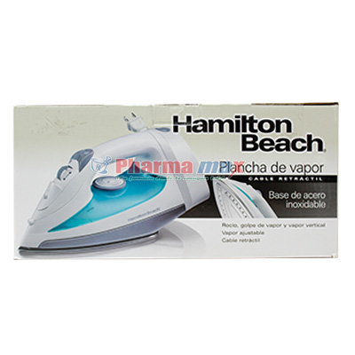 Hamilton Beach Steam Iron Item# 14212