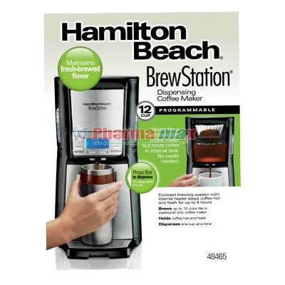 Hamilton Beach Brew Statation Coffee Maker 12cup