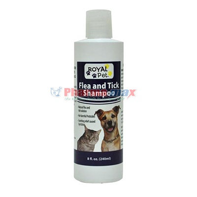Royal Pet Flea Tick Shampo 8oz