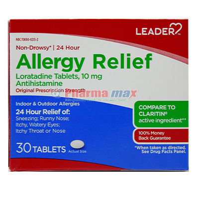 Leader Allergy Relief 10mg 30tab