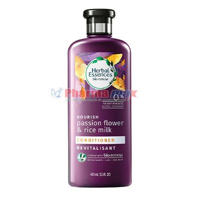 Herbal Essences  Bio Renew Nourish Passion Flower & Rice Milk Conditioner 400ml
