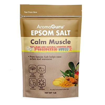 Aroma Epsom Calm Muscle 1lb