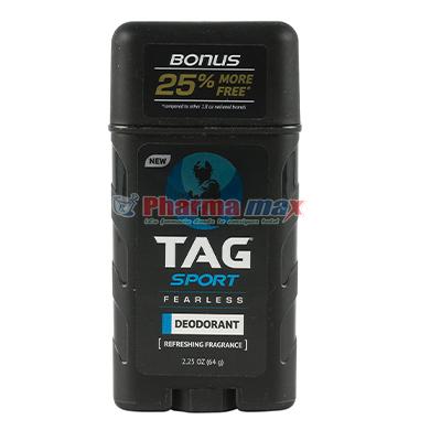 Tag Sport Deodorant Body Spray Fearless 2.25oz