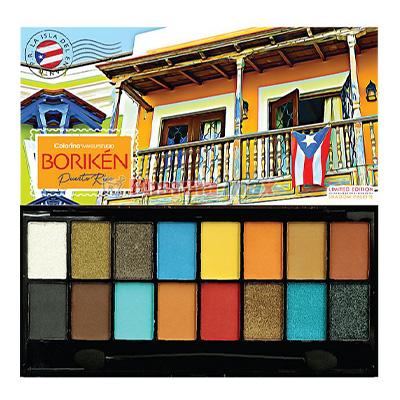 Colorina Shadow Palette Borinken Balcon